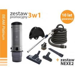 Zestaw SC 385LCD + akcesoria NEXE + NEXE2  - promocja 10 lat gwarancji